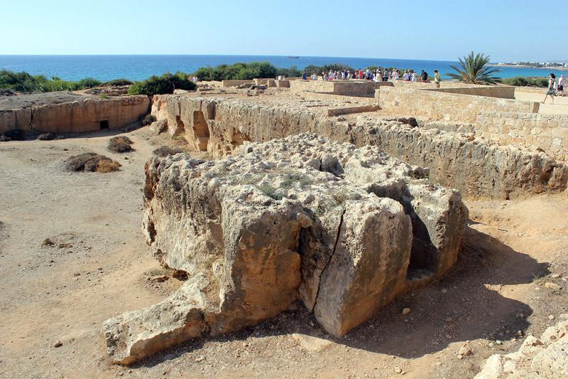 Bay Rentals Paphos Properties - Archaeological Scene