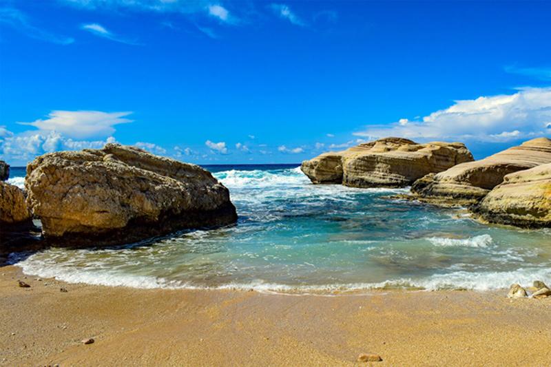 Bay Rentals Paphos Properties - Beach Scene